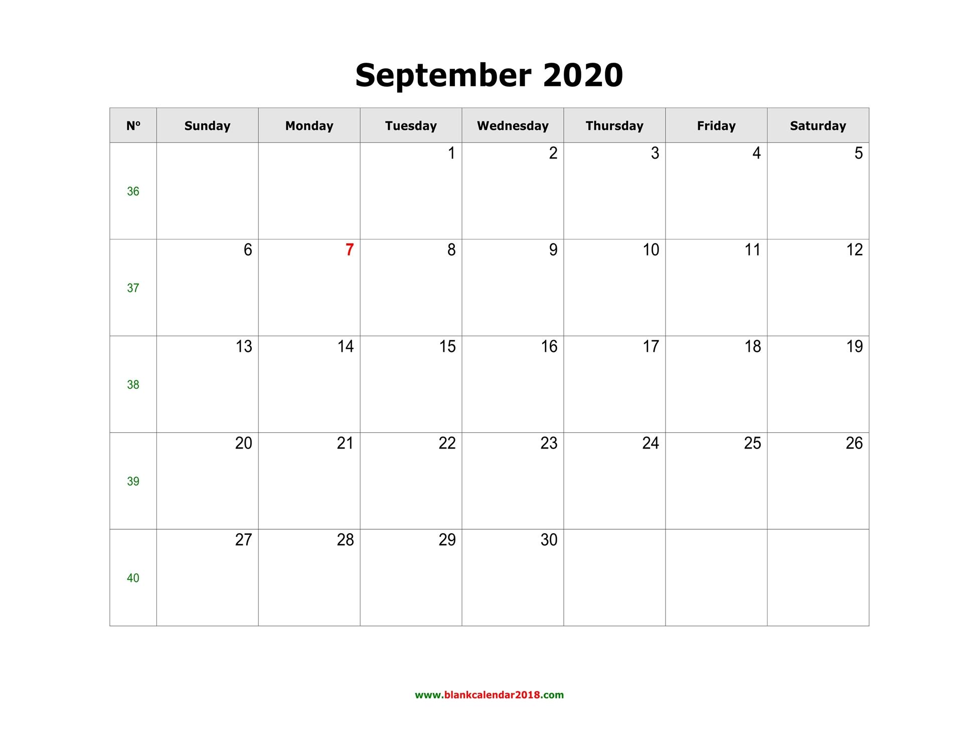 Blank Template Calendar from www.blankcalendar2018.com