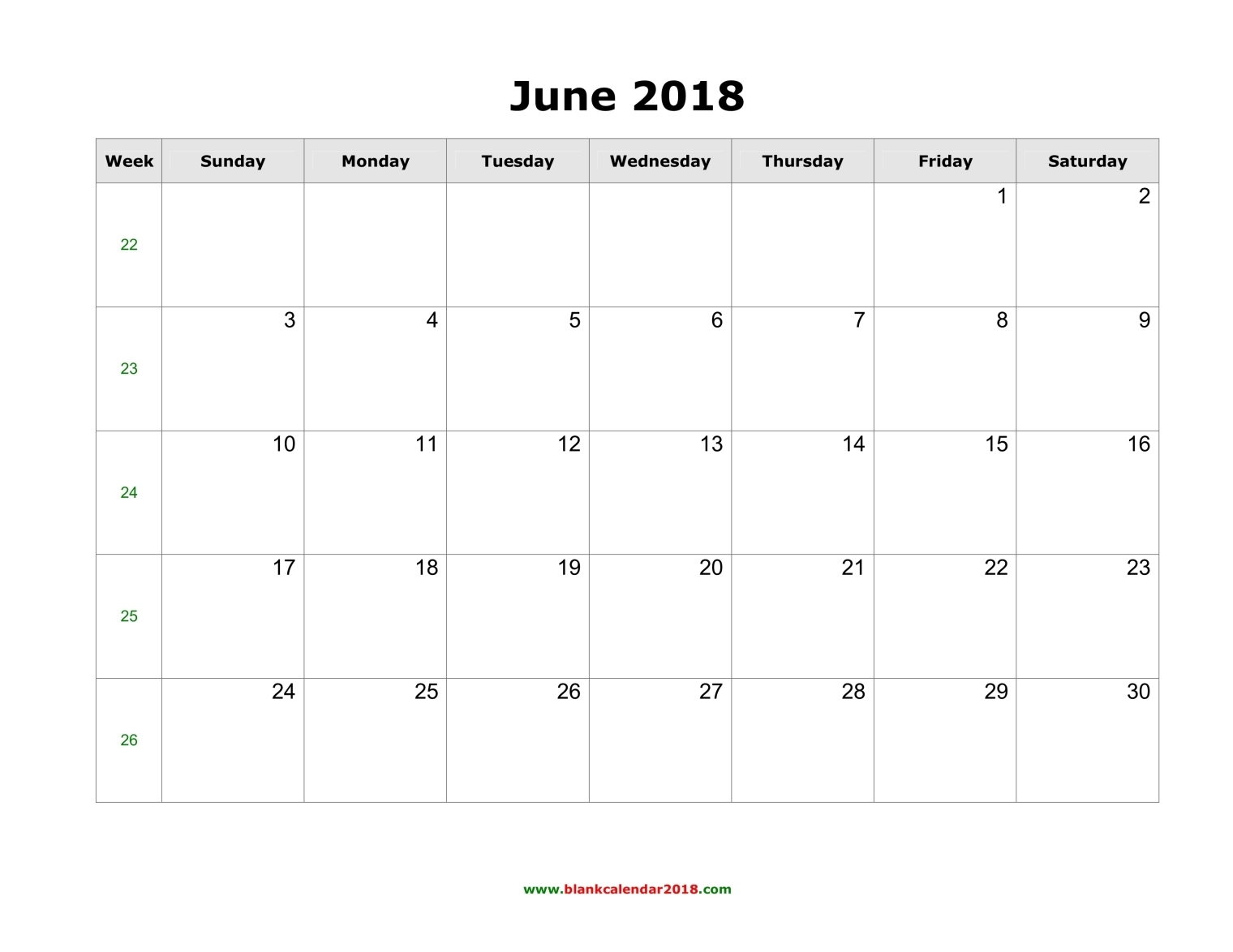 Blank Calendar June July : Blank calendar for june