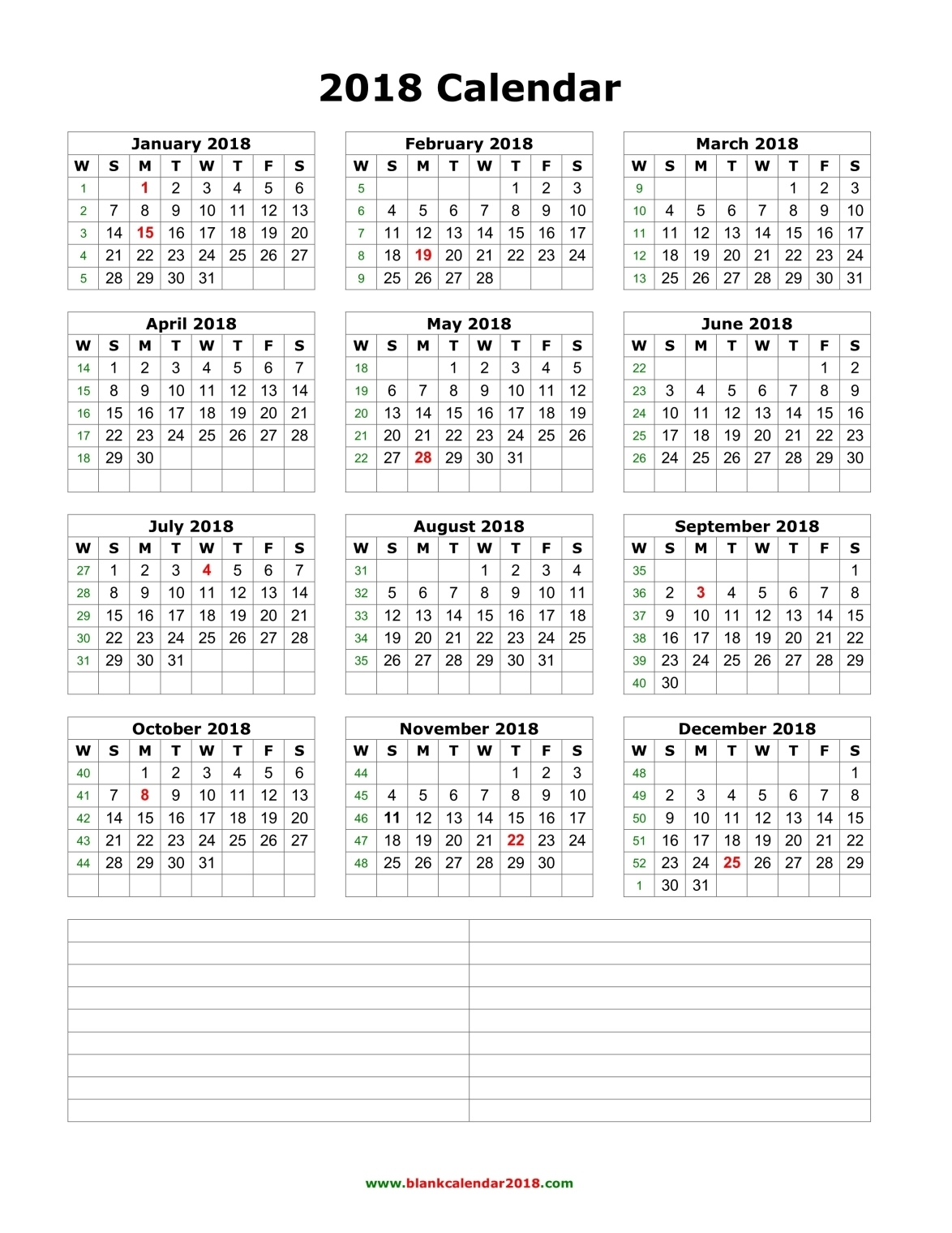 2017 2018 2019 calendar 4 three year printable pdf calendars